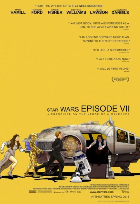 """Star Wars VII"" Posters Made Out Of Another Movie Posters (15 pics)"