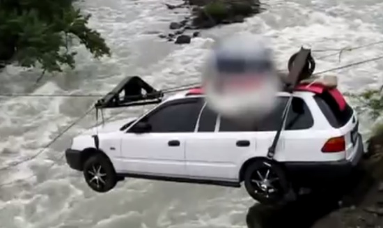 How Cars Cross Siberian Rivers
