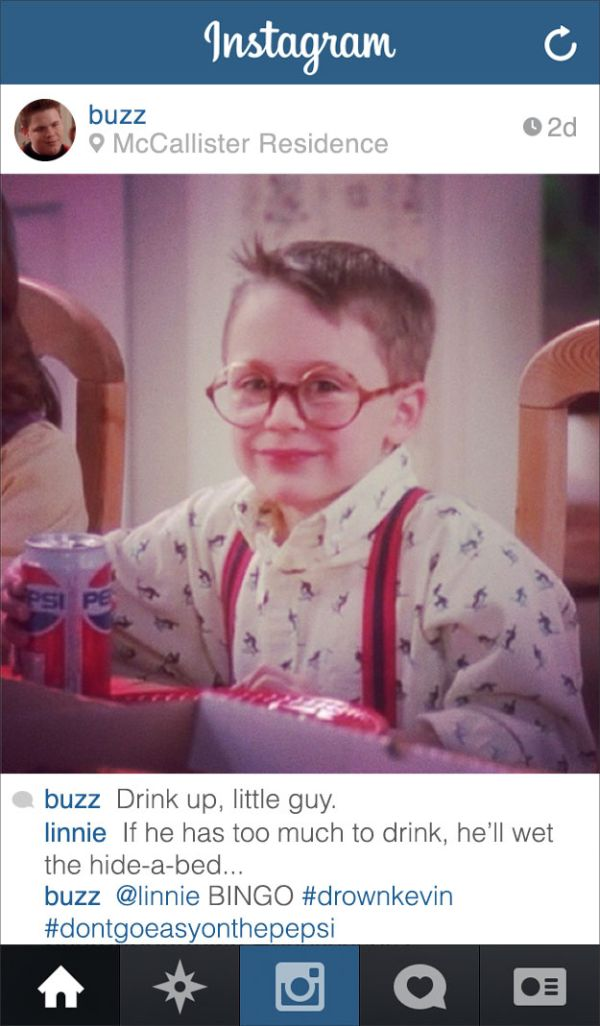 """If Buzz From """"Home Alone"""" Had Instagram (9 pics)"""