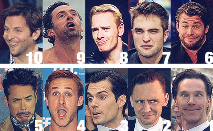 Celebs Make Funny Faces (5 gifs)