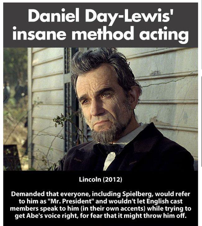 Daniel Day-Lewis` Method of Acting (11 pics)