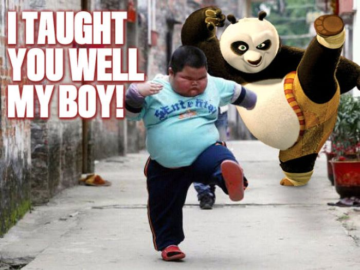 Everybody Was Kung Fu Fighting (34 pics)