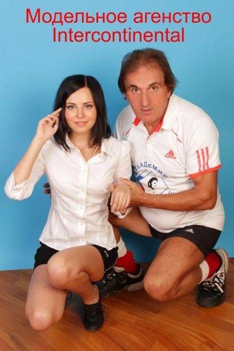 Russian Tennis Coach Who Only Trains Beautiful Women (30 pics)
