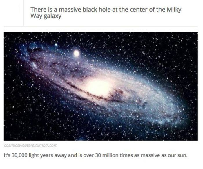 Interesting Facts About the Black Holes (25 pics)