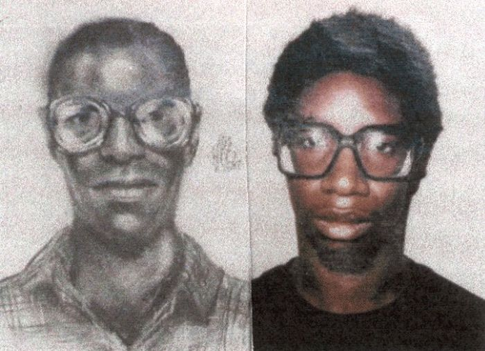 Police Sketches vs. Mugshots. Part 3 (30 pics)