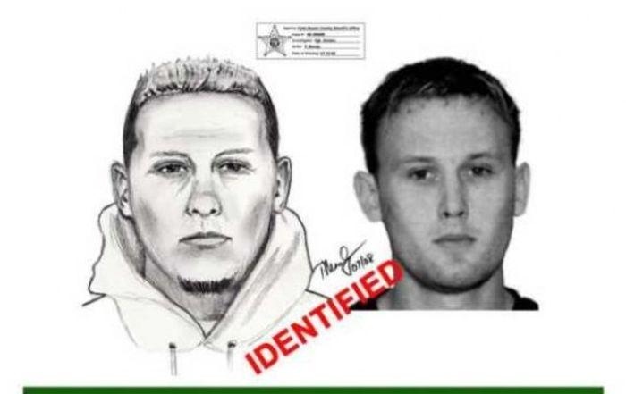 Police Sketches vs. Mugshots. Part 3 (30 pics)