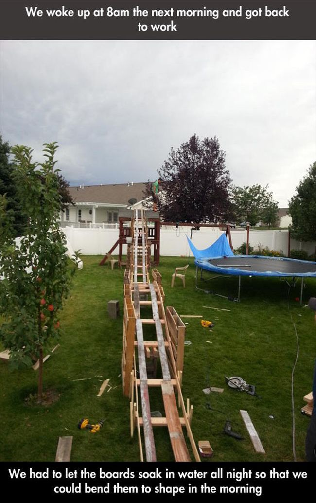 Backyard Rollercoaster (6 pics)