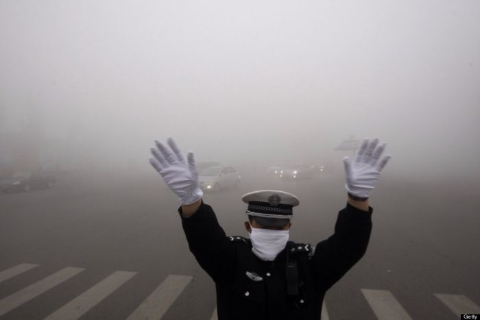 Air Pollution in China (12 pics)