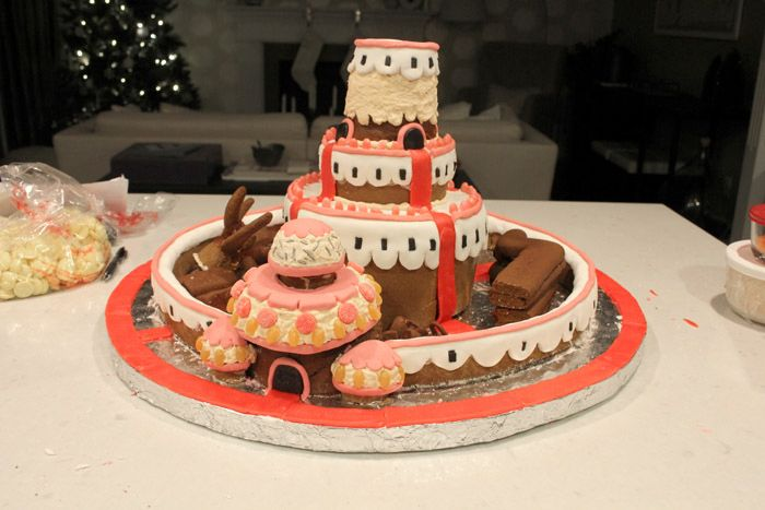 Gingerbread Candy Kingdom (46 pics)