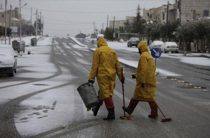 Snow in Egypt (27 pics)