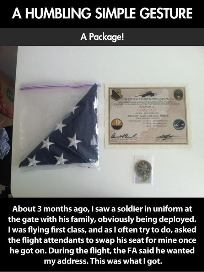 Gift from a Soldier (4 pics)