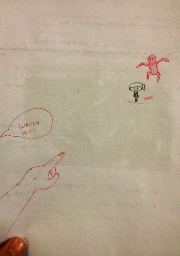 How to Deal With Students Doodling in Class (15 pics)