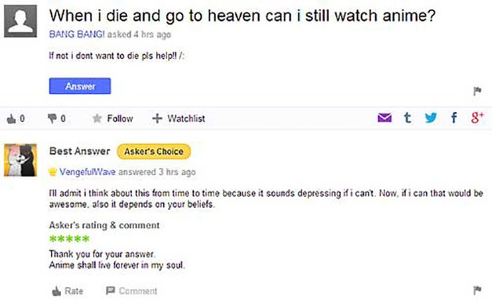 Stupid Yahoo Answers (30 pics)