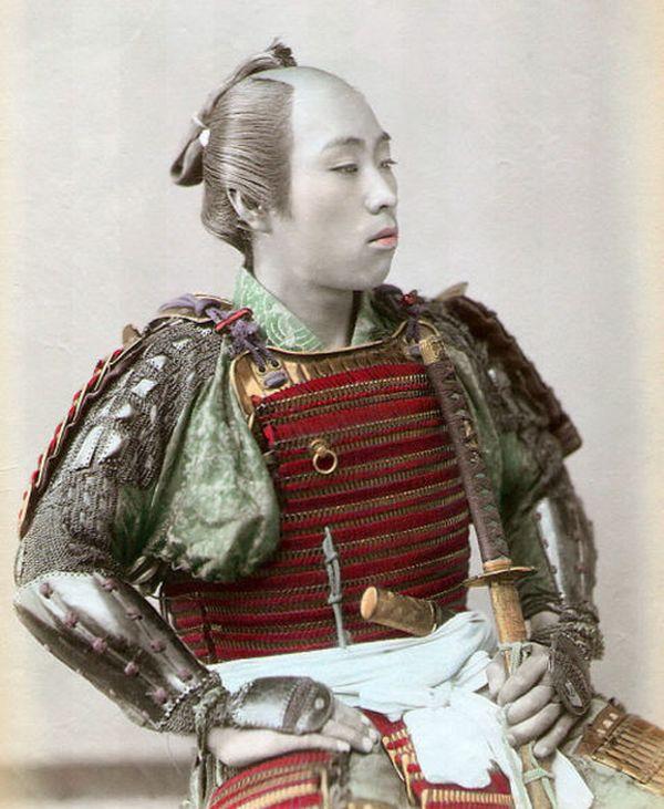 Fotos de samurais reales