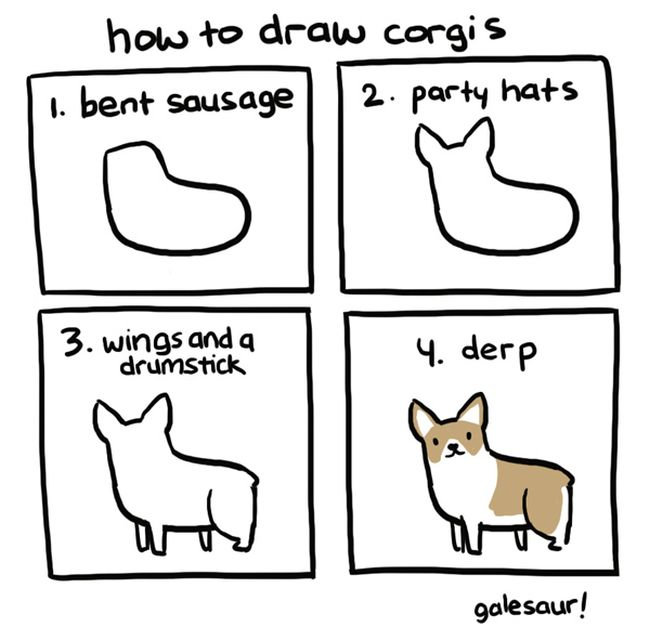 how to draw different things 17 pics