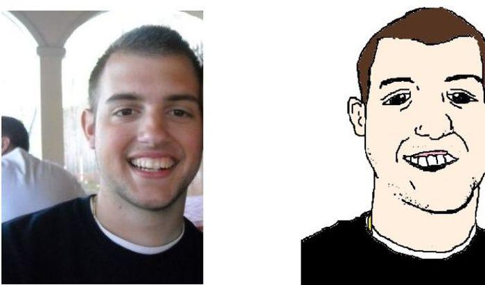 MS Paint Portraits of Twitter Followers (58 pics)