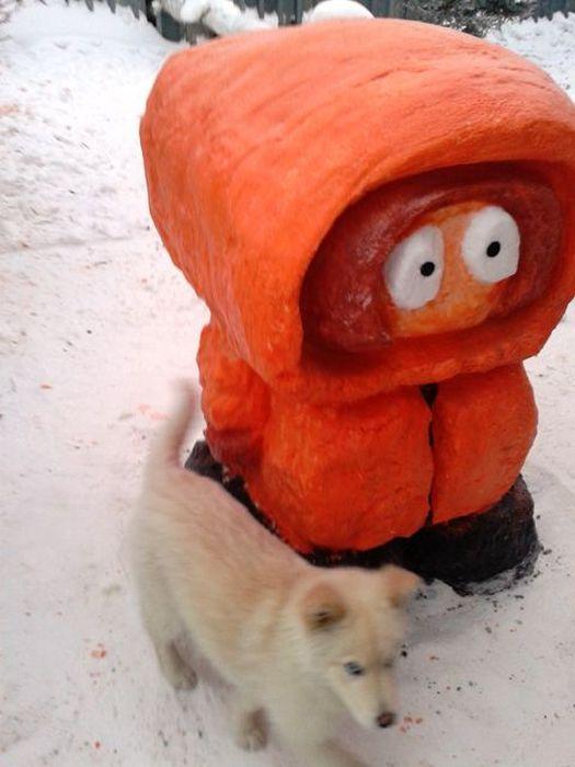 Snow Kenny McCormick (13 pics)