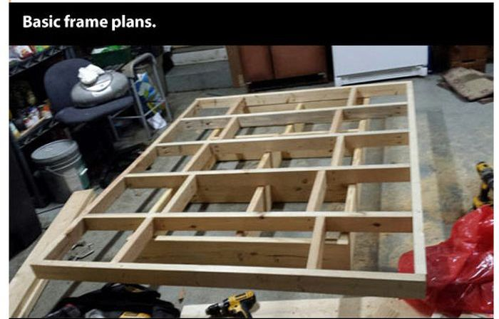 DIY Levitating Bed (14 pics)