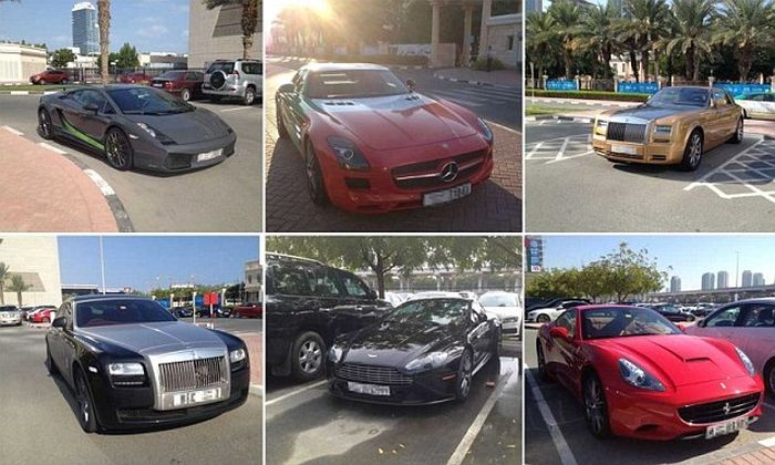 Cars the Dubai Students Drive (18 pics)