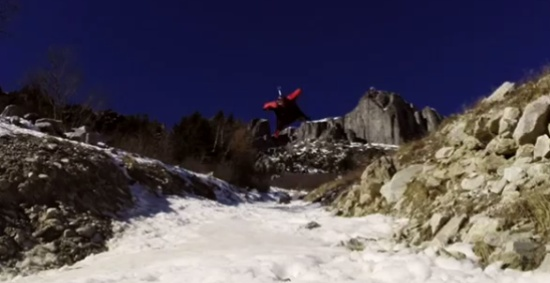 Extremely Low Base Jump Flight