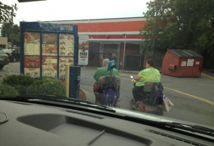 Scooters of the USA (30 pics)