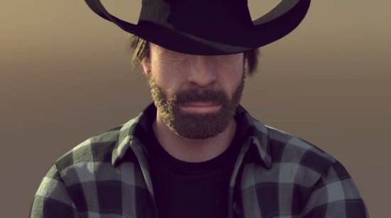 Epic Christmas Greetings From Chuck Norris