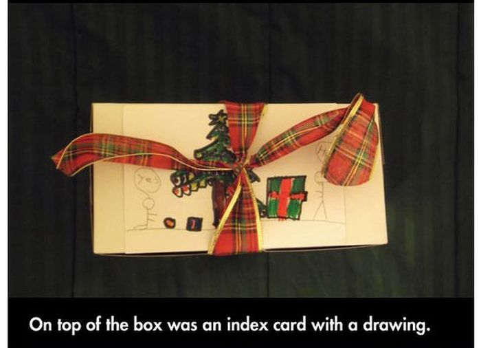 Christmas Gift for a Soldier (6 pics)