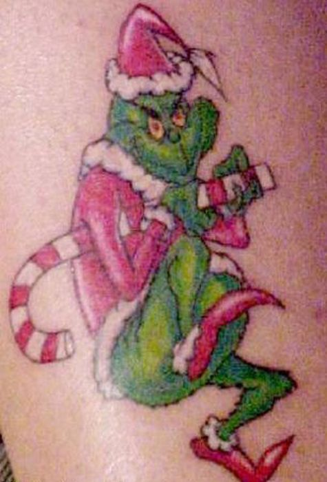 Christmas Tattoos (20 pics)
