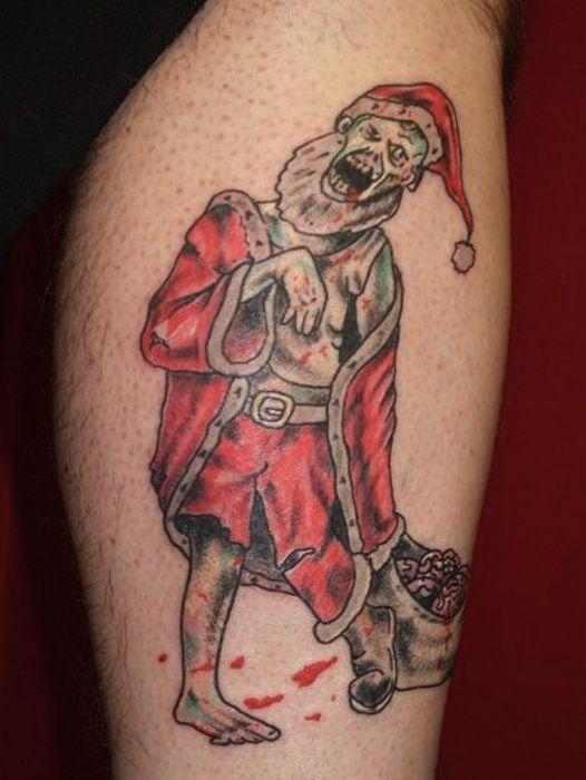 Christmas Tattoos (20 pics)