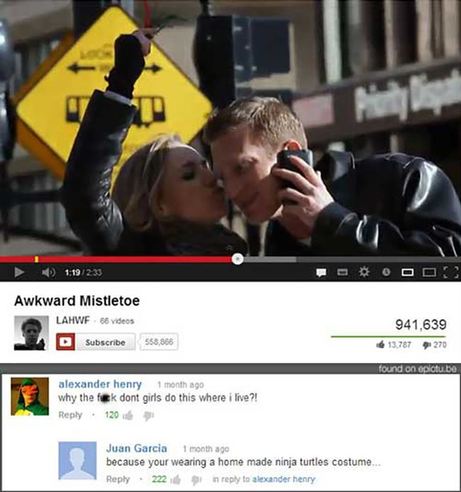 Funny Youtube Comments Part 16 (29 pics)