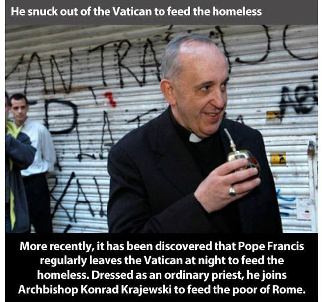 Pope Francis is the Person of the Year (17 pics)