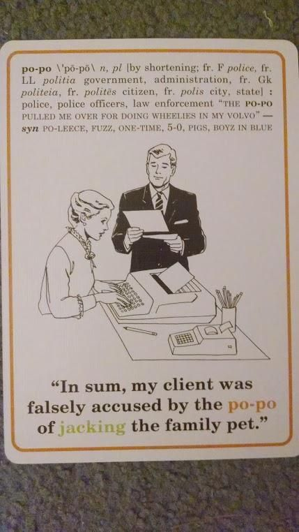 Slang Flashcards (18 pics)