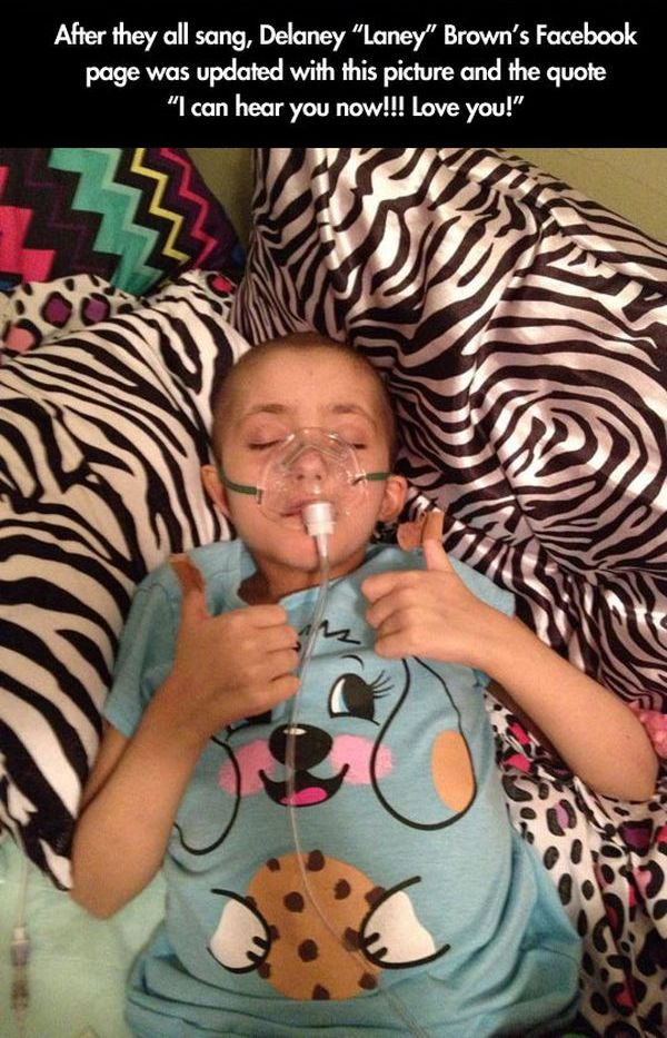 Terminally Ill Girl Gets Her Wish (4 pics)