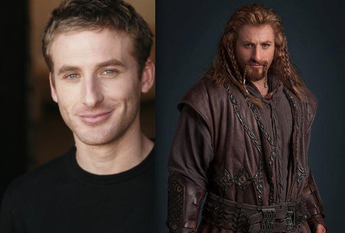 Hobbit Characters Without Makeup (13 pics)