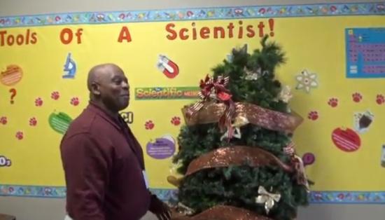 Horror Christmas Tree Prank