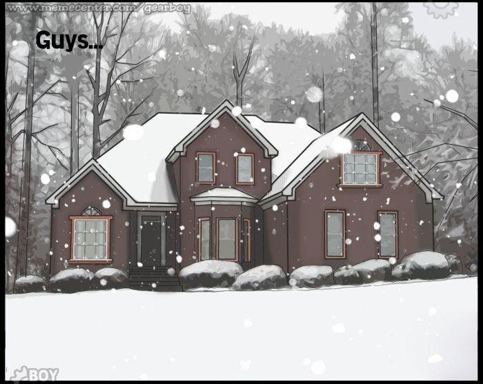 When It Snows: Girls Vs Guys (12 pics)
