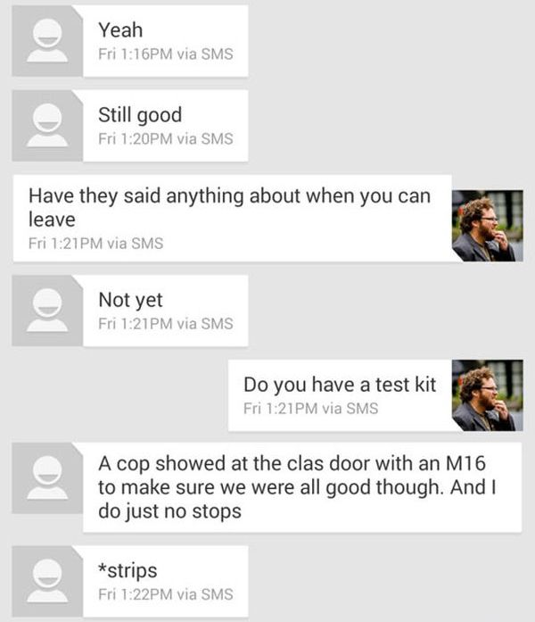Texts Between a Father and His Son During the Arapahoe Shooting (13 pics)