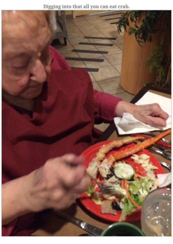 The Best 103th Birthday Ever (5 pics)