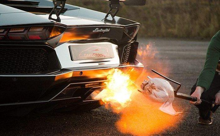Lamborghini Roasted Turkey (5 pics)