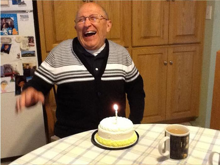 Realizing It's His 70th Birthday (7 pics)