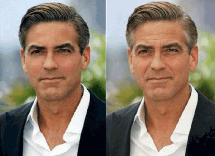 Celebrities Before and After Photoshop (15 gifs)