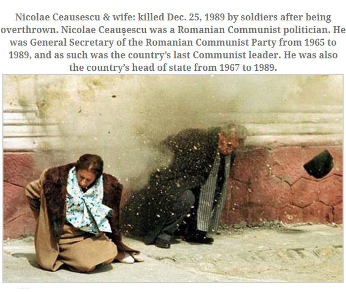 Photos Taken Moments After Assassinations (10 pics)