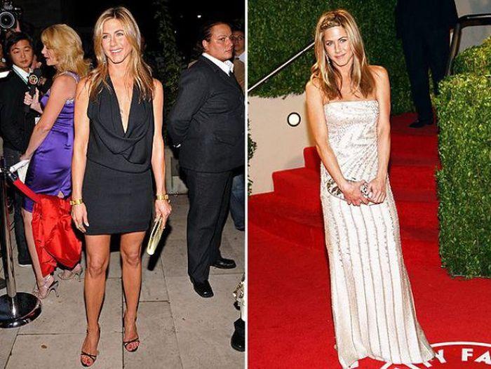 Jennifer Aniston's Aging Timeline (26 pics)