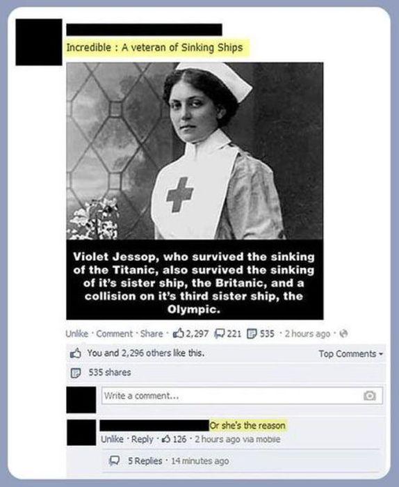 Stupid Posts on Facebook. Part 5 (30 pics)
