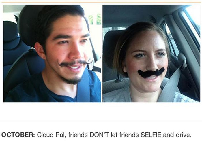 Reenacting Selfies of the iPhone Thief (12 pics)