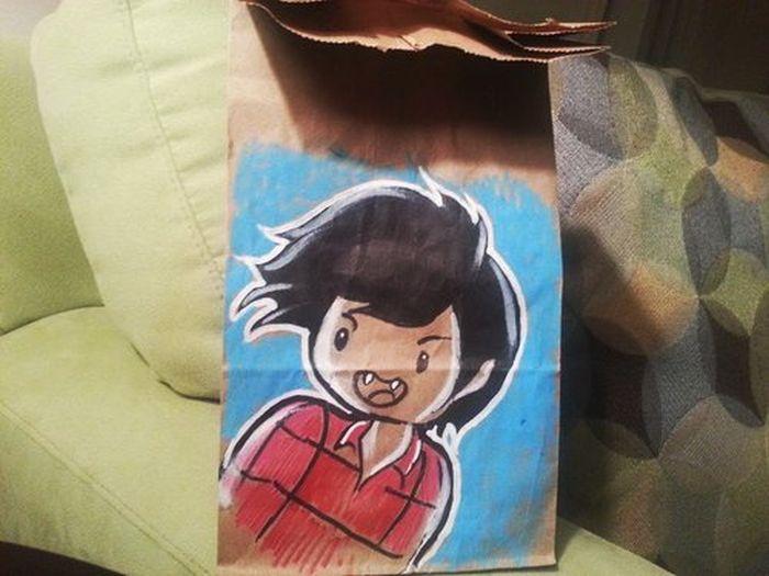 Lunch Bag Art (40 pics)