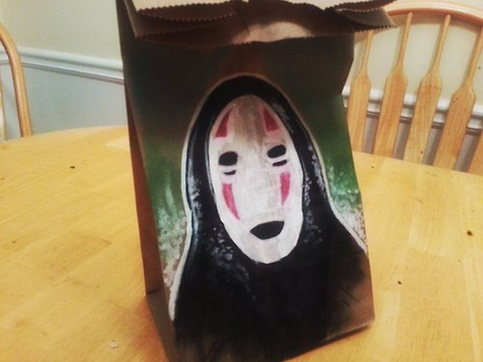 Lunch Bag Art (40 pics)