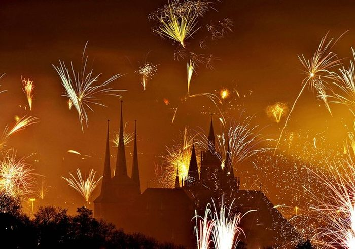 New Year's Eve Fireworks (36 pics)