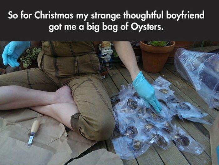 Strange Christmas Present (7 pics)