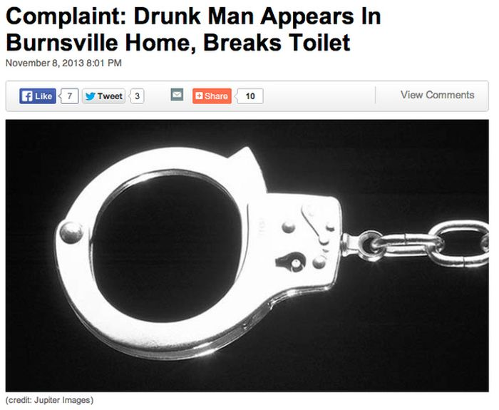 Dumb Things Done by Drunk People (40 pics)